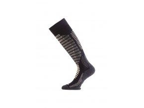 Lasting SWR 907 černá silné podkolenky  ponožky