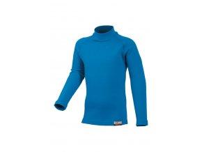 Lasting SONY 5151 modrá Vlněné Merino triko