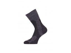 Lasting TRP 889 šedá středně silná trekingová ponožka
