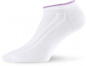 Lasting ARA-2pár bavlněné ponožky 004 bílá  ponožky
