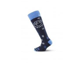 Lasting SJW 905 černá dětské ponožky  ponožky
