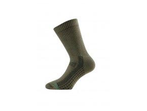 Lasting TSR 620 zelená bambusové ponožky