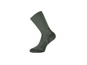 Lasting TXC 620 zelená  vlněné ponožky