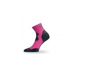 Lasting TKI 318 růžová trekingová ponožka  ponožky
