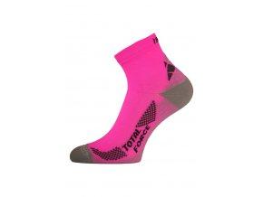 Lasting RTF 450 růžové běžecké ponožky  ponožky