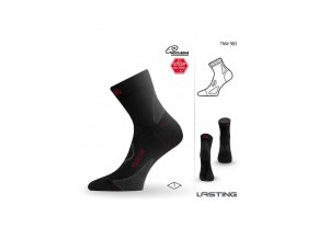 Lasting TNW 983 černá merino ponožka  ponožky