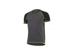 Lasting OTO 8961 šedé pánské vlněné merino triko