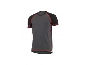 Lasting OTO 8936 šedé pánské vlněné merino triko