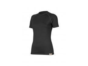 Lasting ALEA 9090 černé vlněné merino triko