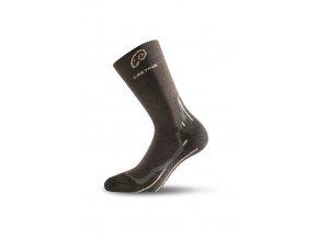 Lasting WHI 721 hnědé vlněné ponožky  ponožky
