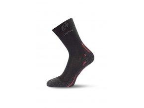 Lasting WHI 900 černé vlněné ponožky  ponožky