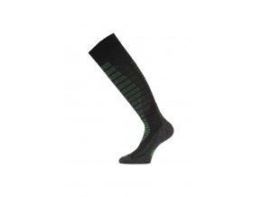 Lasting SWR 906 černá silné podkolenky  ponožky