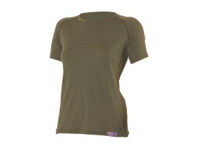 Lasting ALEA 6363 zelené vlněné merino triko
