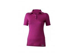 Lasting ALISA 4848 růžové merino triko dámské