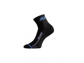Lasting BS30 905 černá cyklo ponožky  ponožky