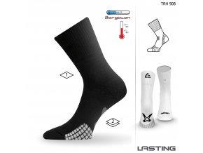Lasting TRH 908 černá trekingová ponožka