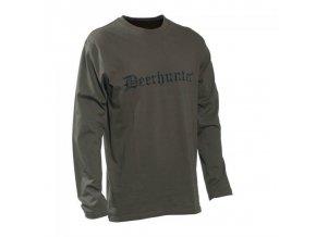 Deerhunter Triko Logo T-shirt L/S 378 DH