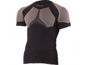 Lasting ROSO 9070 černá bezešvé triko