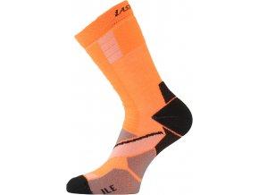 Lasting ILE 389 oranžová Inline ponožky