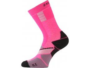 Lasting ILE 489 růžová Inline ponožky