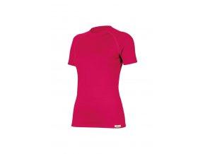 Lasting ALEA 4747 růžové vlněné merino triko