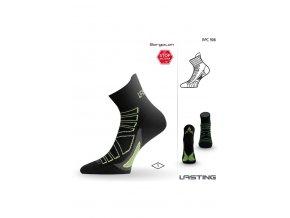 Lasting RPC 906 černá běžecké ponožky  ponožky