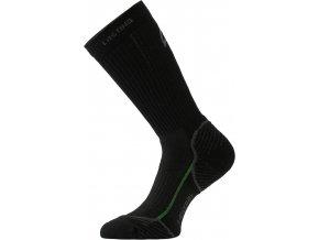 Lasting TWB 906 černá merino ponožky