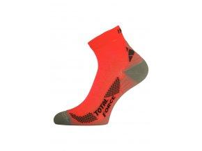 Lasting RTF 210 oranžové běžecké ponožky  ponožky