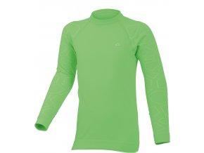 Lasting DIAZ 6101 zelená Termo bezešvé triko