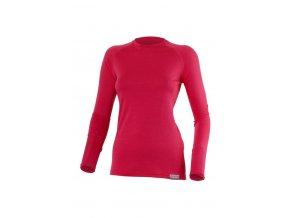 Lasting ATILA 4747 růžové vlněné merino triko