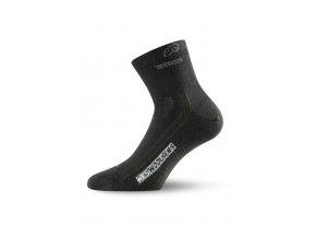 WKS 900 černé ponožky z merino vlny