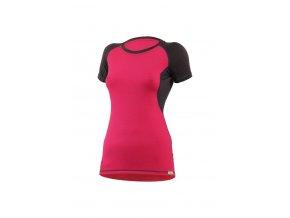 ZITA 4780 růžové vlněné merino triko