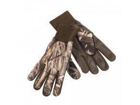 Deerhunter rukavice Fleece Gloves w.Leather (8761) 95 DH