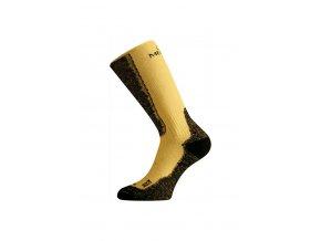 Lasting WSM 640 hořčicová merino ponožky  ponožky