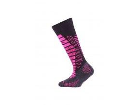 Lasting SJR 904 černá dětské ponožky  ponožky