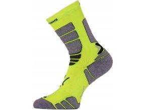 ILR 108 žlutá Středně dlouhá inlinová ponožka