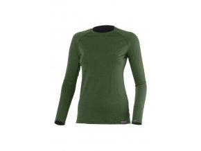 Lasting ATILA 6262 zelené vlněné merino triko