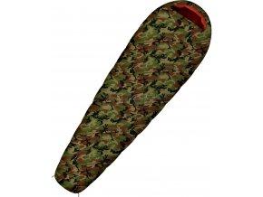 Husky Spacák Outdoor Army -17°C khaki  spací pytel