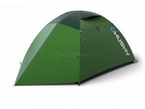 Husky Stan Extreme Lite   Bright 4 zelená  stan + čelovka LED 80lm