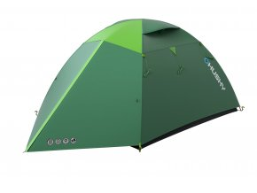 Husky Stan Outdoor Boyard 4 plus zelená  stan + čelovka LED 80lm