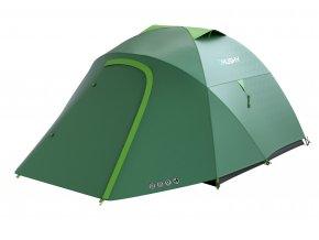 Husky Stan Outdoor Bonelli 3 sv. zelená  stan + čelovka LED 80lm