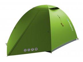Husky Stan Ultralight   Sawaj 2 zelená  stan + čelovka LED 80lm