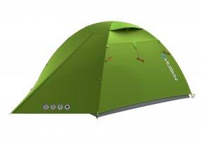 Husky Stan Ultralight   Sawaj 3 zelená  stan + čelovka LED 80lm