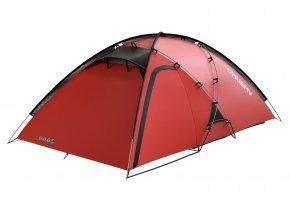 Husky Stan Extreme   Felen 2-3 červená  stan + čelovka LED 80lm