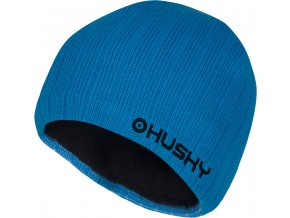 Husky čepice   Hat 1 modrá