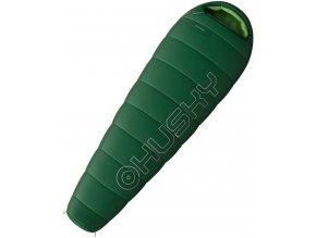 Husky Spacák Outdoor Monti -11°C zelená  spací pytel
