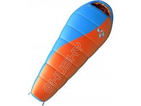 Husky Spacák Outdoor  Kids Merlot -10°C oranžová  spací pytel