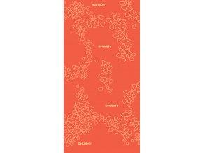 Husky multifunkční šátek   Doks oranžová
