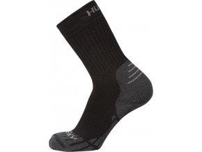 Husky Ponožky   All Wool černá  ponožky