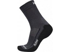 Husky Ponožky  Active černá